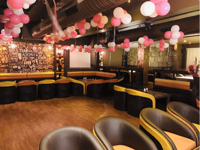 al qaza lounge   bar a perfect corporate party place