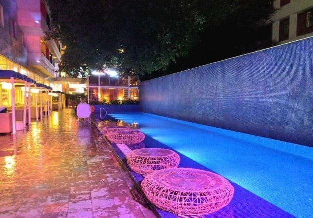 aqua - the park bangalore a perfect corporate party place