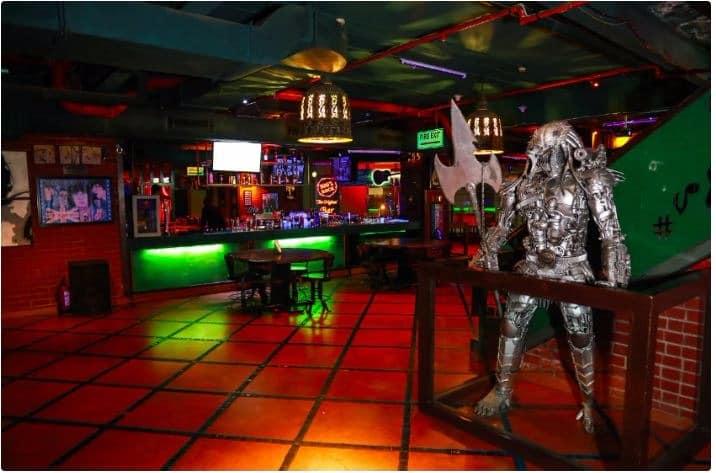 Bar Area at 100  rock