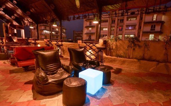 Bar Area at lost the plot - seasons apartment hotel