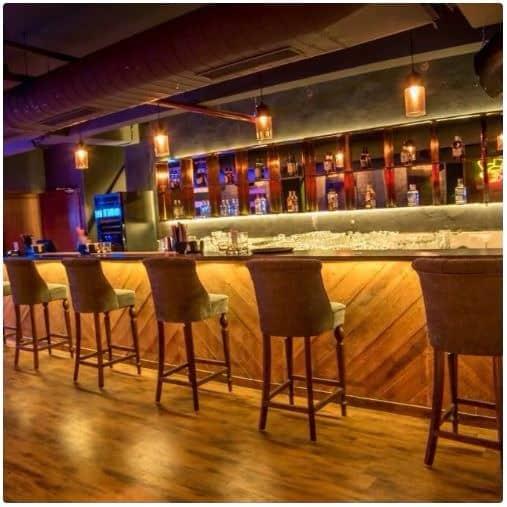 Bar Area at rabbit hole