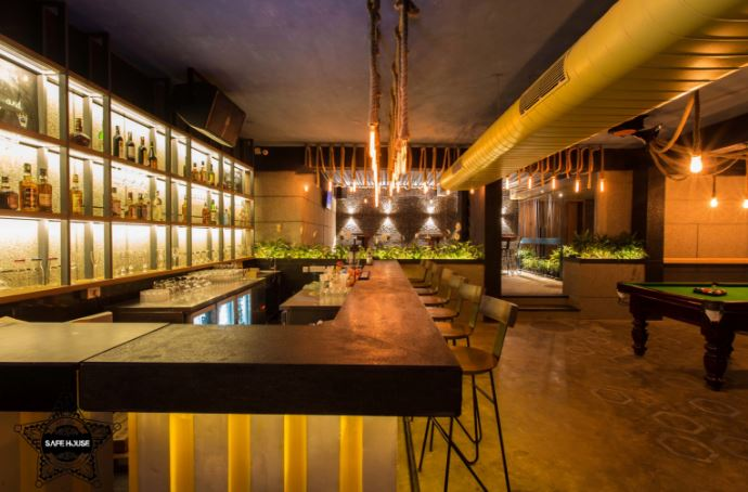 Bar Area at safe house