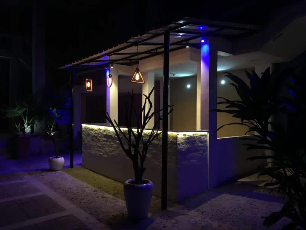 Bar Area at Sainik Farms Villa 1003