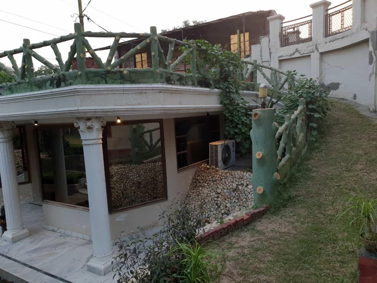 Bar Area at Sainik Farms Villa 1004
