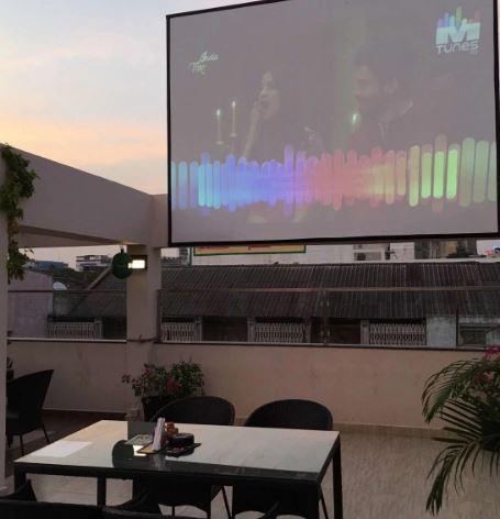 Bar Area at skyline