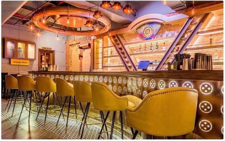 Bar Area at the darzi bar and kitchen