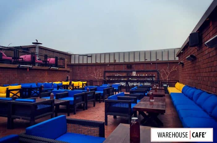 Warehouse Cafe Connaught Place Delhi