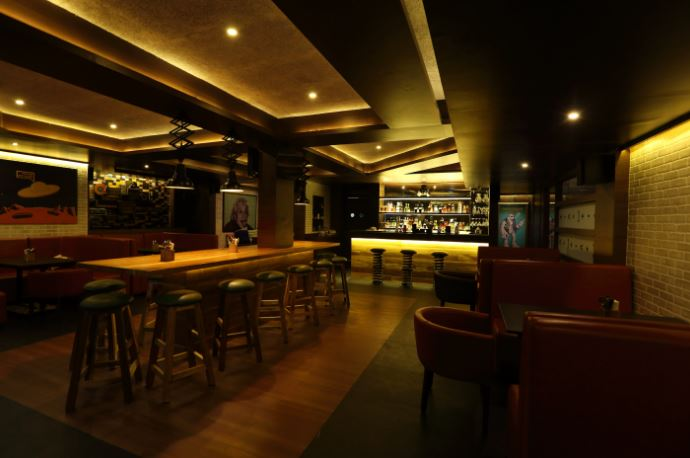 big bang theory - bar and kitchen a perfect corporate party place