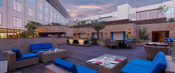 Birthday party at aire skybar and grills - crowne plaza jaipur Tonk Road