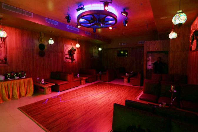Birthday party at blue nile lounge Chinar Park