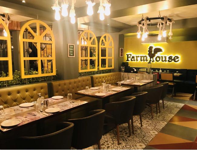Birthday party at farmhouse global cuisine restaurant Vasai