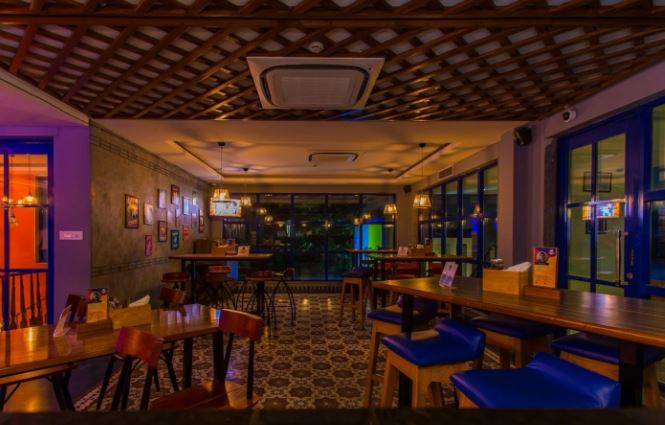Birthday party at fikkanaut - the bar above Jubilee Hills