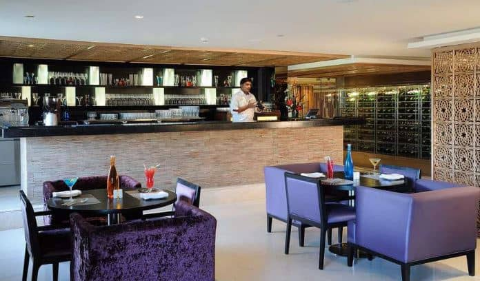 Birthday party at gallop bar - davanam sarovar portico suites Total Mall