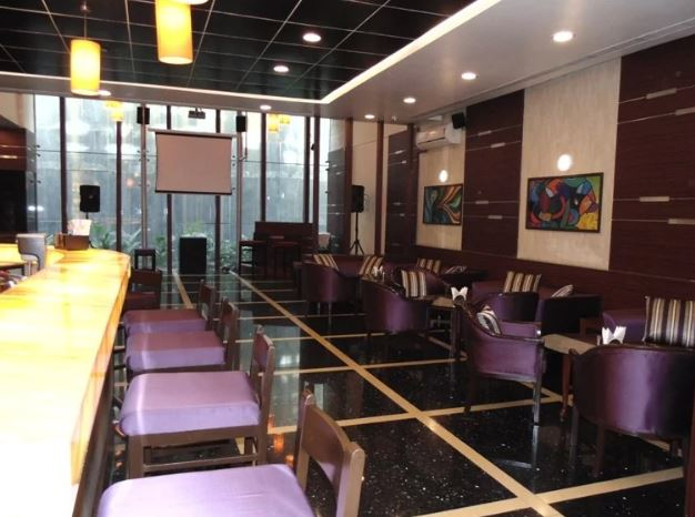 Birthday party at merlins bar - the orchid hotel Balewadi