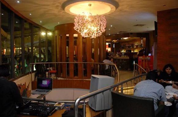 Birthday party at news cafe Hitech City