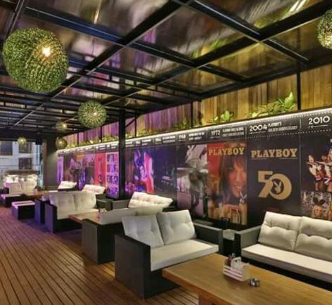Birthday party at playboy beer garden Jubilee Hills