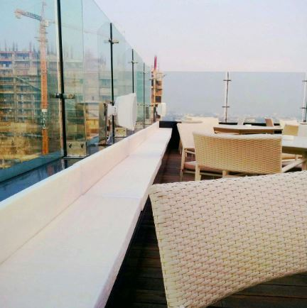 Birthday party at sky bar - renaissance lucknow hotel Gomti Nagar