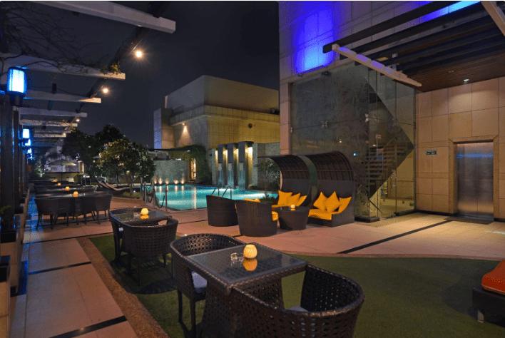 Birthday party at sky lounge - park plaza Sushant Lok