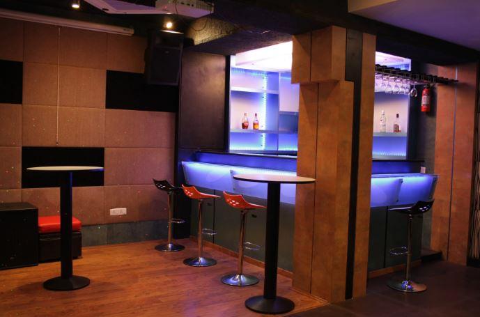 Birthday party at studio karaoke bar Kodambakkam