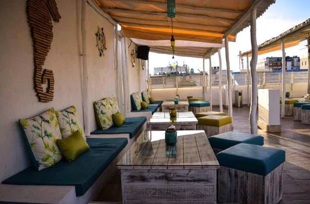 Birthday party at thalassa - the mediterranean terrace lounge Church Street