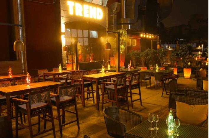 Birthday party at trend - bar   kitchen Khel Gaon Marg