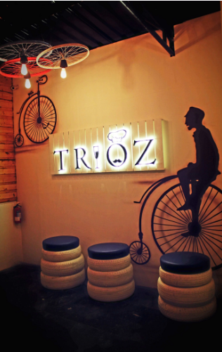 Birthday party at trioz Vile Parle West