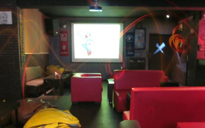 Birthday party at xtreme sports bar Hitech City