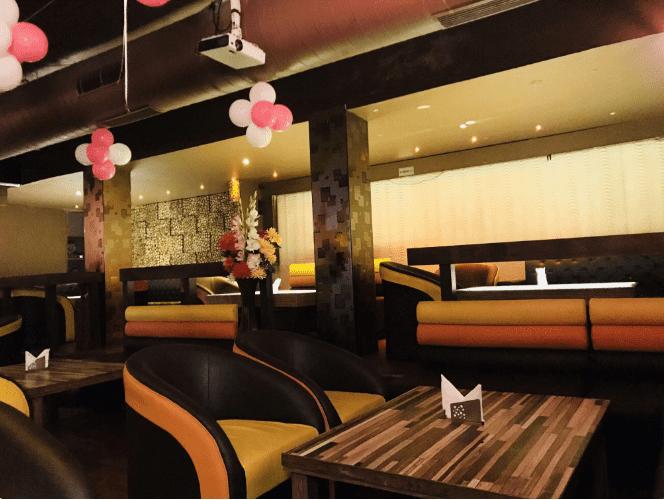 Bollywood Theme Party at al qaza lounge   bar
