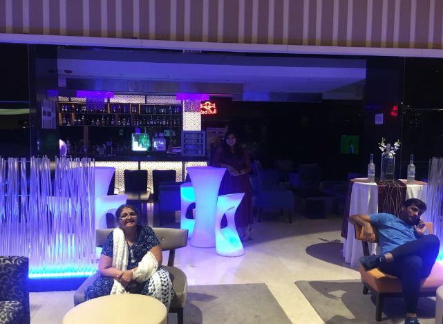 Bollywood Theme Party at bar code - novotel