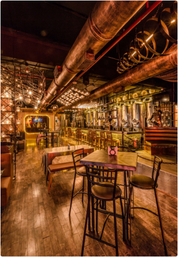 Bollywood Theme Party at barrel and co