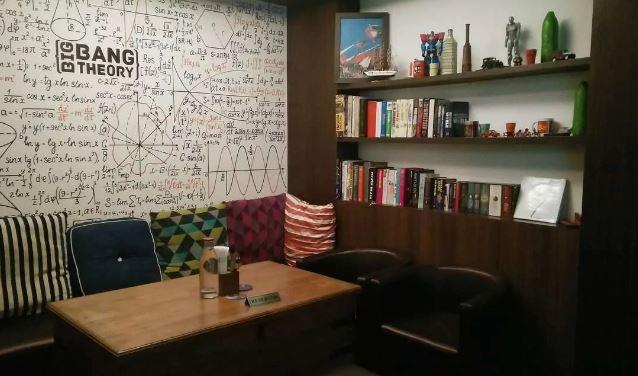 Bollywood Theme Party at big bang theory - bar and kitchen
