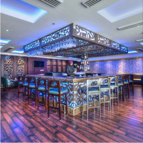 Bollywood Theme Party at cafe delite   bar - hotel delite grand