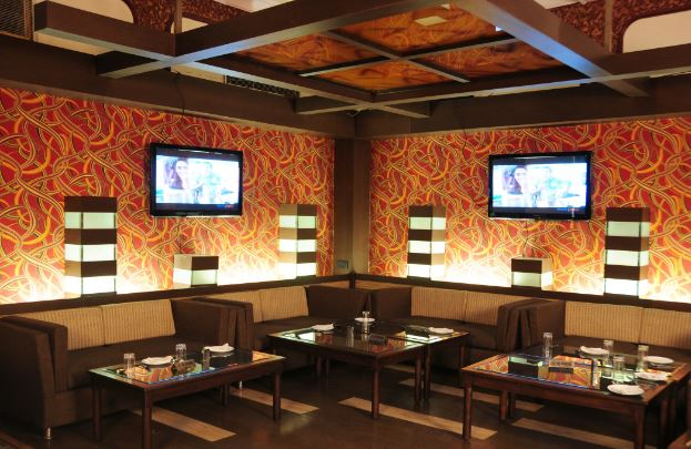 Bollywood Theme Party at chief guest bar and restaurant