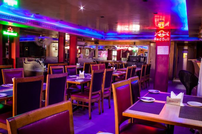 Bollywood Theme Party at filling station