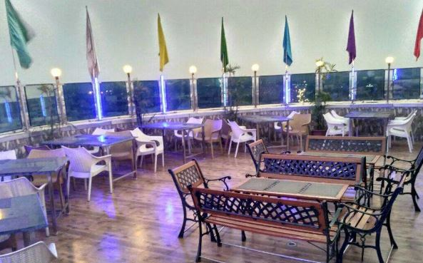 Bollywood Theme Party at head light on roof top bar