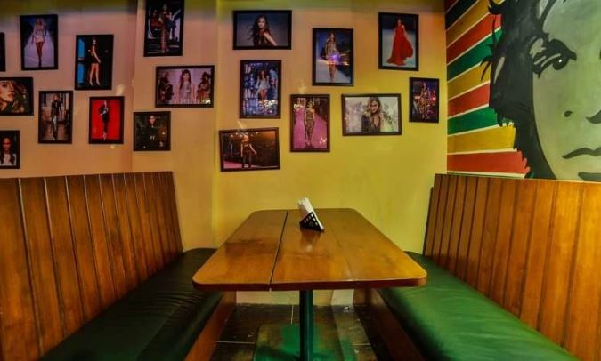 Bollywood Theme Party at heart cup coffee