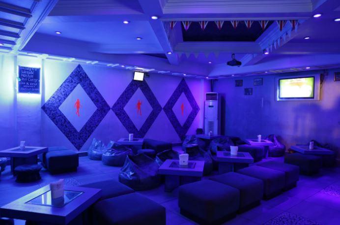 Bollywood Theme Party at hotel himanis - vertigo lounge