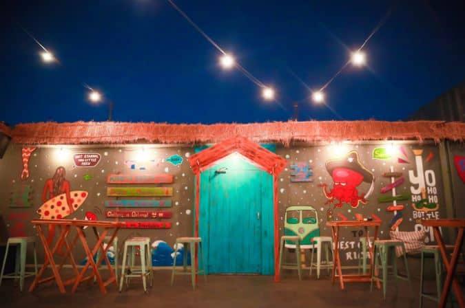 Bollywood Theme Party at karma shack