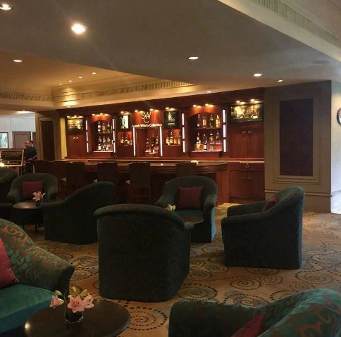 Bollywood Theme Party at lobby lounge - taj banjara