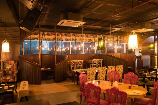 Bollywood Theme Party at local gastro bar