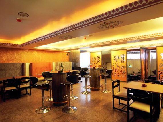 Bollywood Theme Party at lounge mayaa
