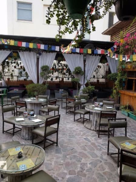 Bollywood Theme Party at nowhere terrace brewpub cafe