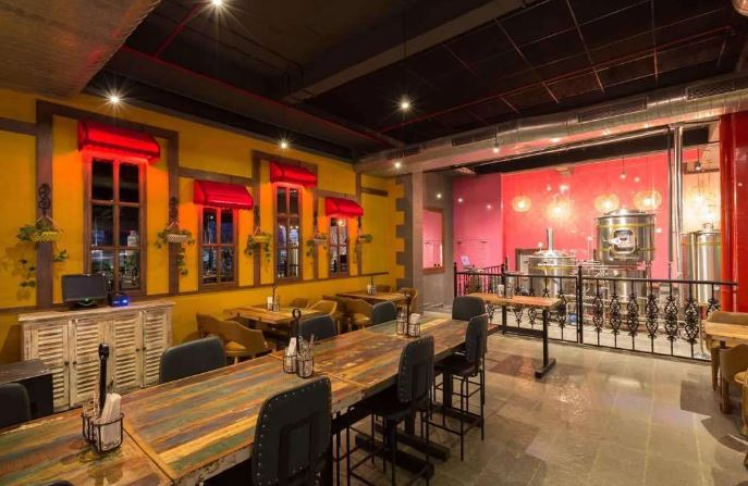 Bollywood Theme Party at over the moon brew company