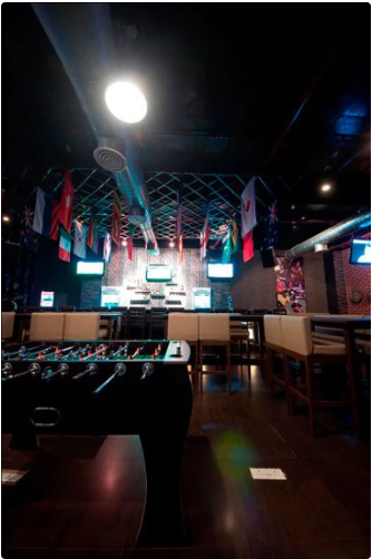 Bollywood Theme Party at power play resto bar
