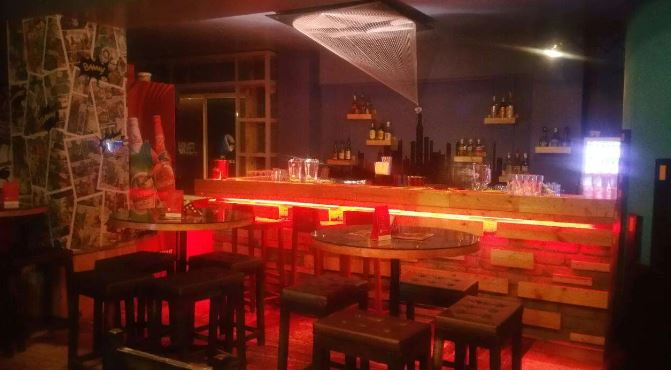 Bollywood Theme Party at powerhouse - the comic bar