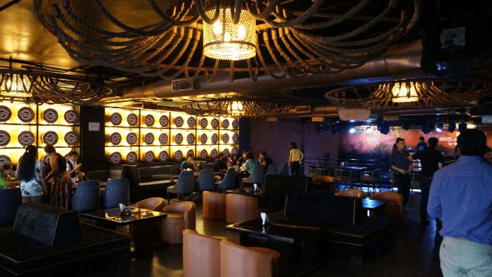 Bollywood Theme Party at raftaar - the high speed lounge   bar