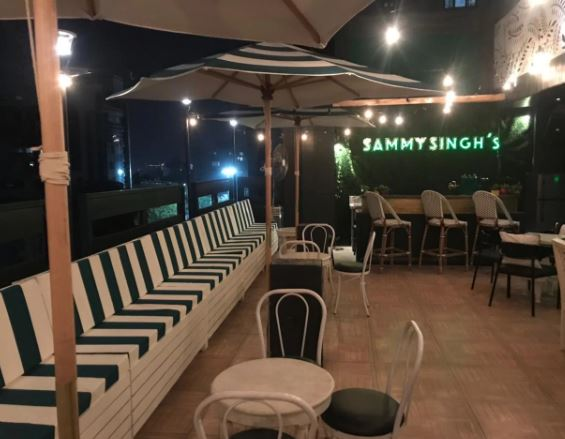 Bollywood Theme Party at sammy singhs rooftop