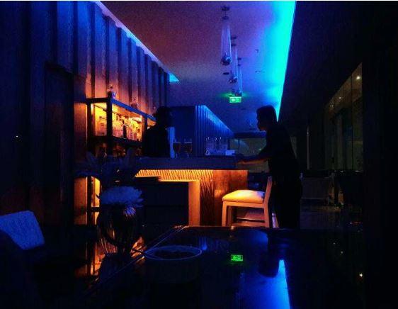 Bollywood Theme Party at sky bar - renaissance lucknow hotel