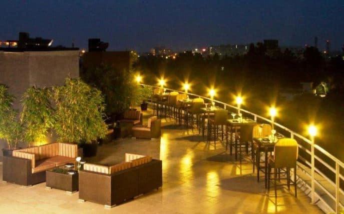 Bollywood Theme Party at sky lounge bar - svenska design hotel