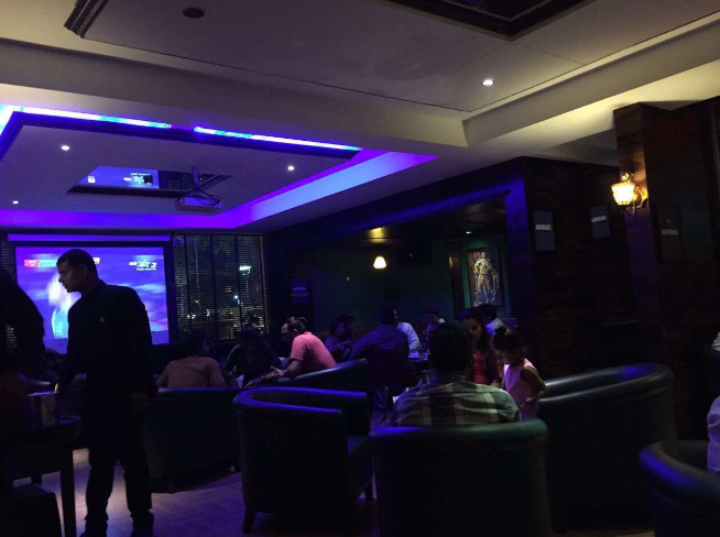 Bollywood Theme Party at the oaks - lounge and bar - gcc hotel and club